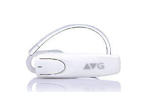 White Bluetooth Earphone