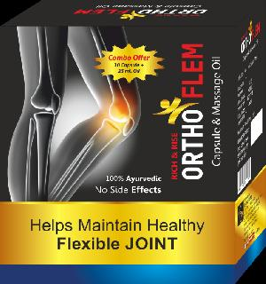 Ortho Flem Capsules & Massage Oil