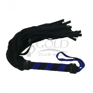 Blue & Black Suede Whip
