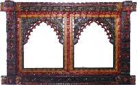 Antique Wooden Jharokha