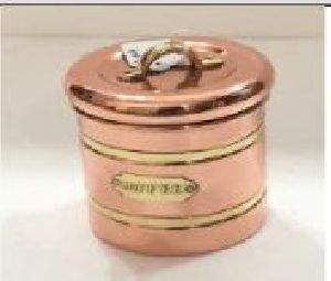 Copper Tea And Coffee Containers