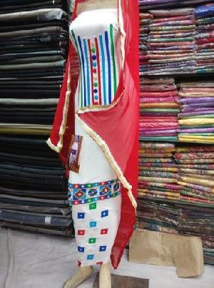 Arm Embroidered Unstitched Suits