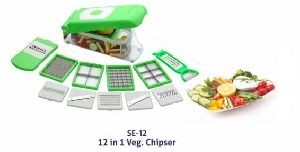 12 In 1 Vegetable Chipser