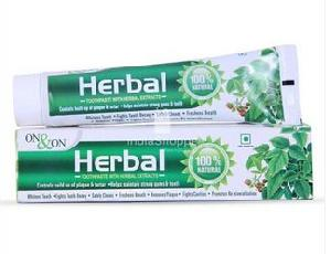 On & On Herbal toothpaste