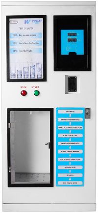 mineral water vending machine