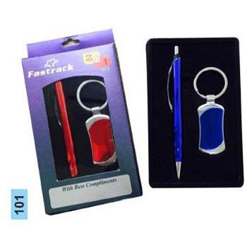 Pen & Keychain Gift Set