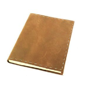 Plain Leather Diary