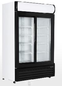 Double Door Showcase Cooler