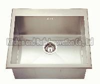 KBHS5050 Stainless Steel Topmount Single Bowl Sink
