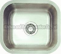 KBUS1616 Stainless Steel Undermount Single Bowl Sink