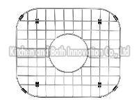 Stainless Steel Single Bowl Sink Bottom Grid