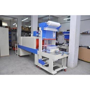 Semi Automatic Sleeve Wrapping & Shrink Tunnel Machine