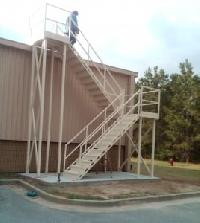 Cage Ladders Fall Protection