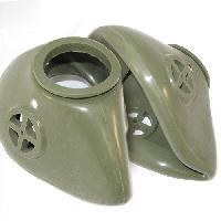 military gas masks