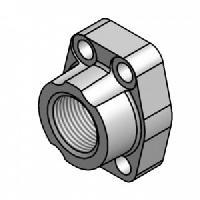 "3/4"" NPTF Thread Flange Kit, Code 61, O-Ring"