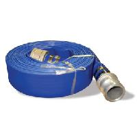 Blue Collapsible Discharge Hose