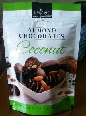 Almond and Coconut Flavored Chocolate