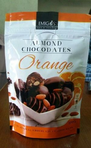 Almond And Orange Flavored Chocolate