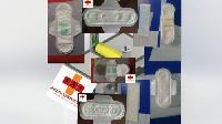 8 In 1 Semi Automatic Sanitary Making Machine