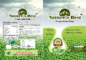 Nature's Best Frozen Green Peas