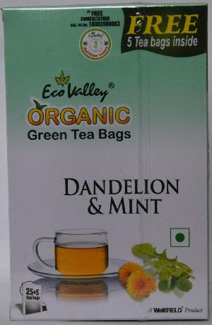 Organic Green Dandelion & Mint Tea