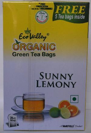 Organic Green Sunny Lemony Tea