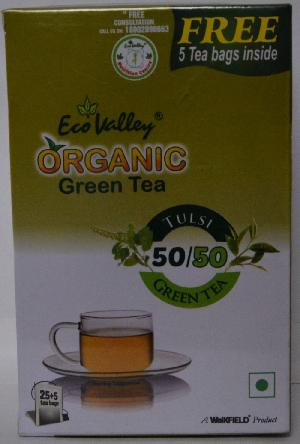Organic Green Tulsi Tea
