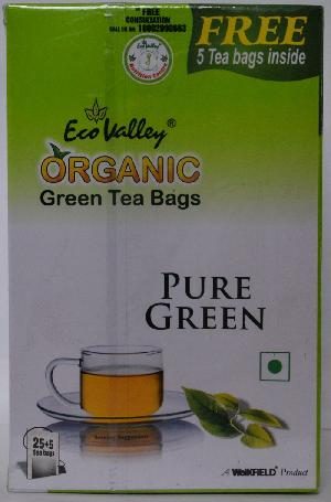 Pure Organic Green Tea