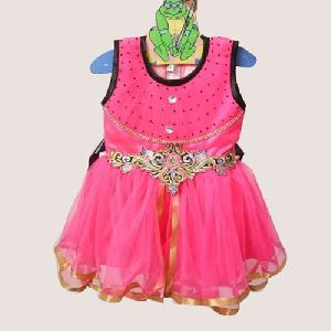 Baby Girl Pink Frocks