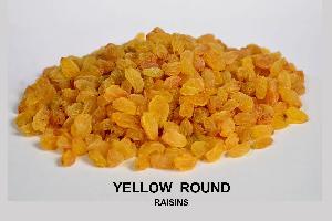 Yellow Round Raisins
