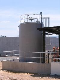 NITRIC ACID STORAG tank