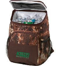 12 Can Camo Backpack Cooler