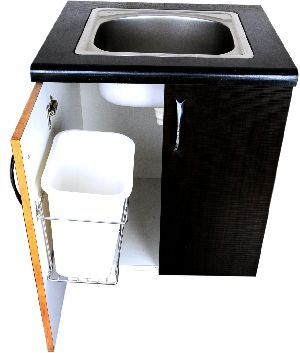 Below Sink Solution Rectangle Dustbin