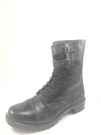 Military Boot with Buckle