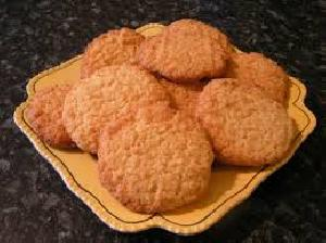 Cocunut Biscuits with Pure Ghee