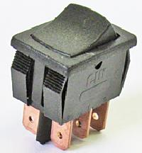 Maintained Action Miniature Rocker Switches
