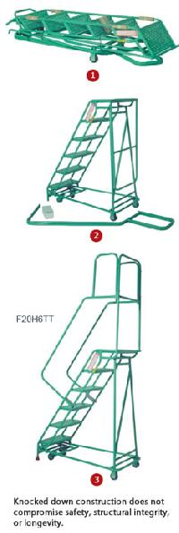 Folding Rolastair Rolling Ladder