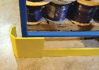 Cubic Designs Round Bollards Guard Valuable Plant Equipment, Loading D
