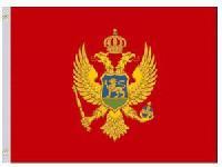 Nylon Montenegro Flag