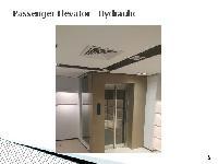 Passenger elevator - hydraulic