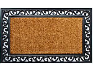 Brushed Rubberised Coir Mats