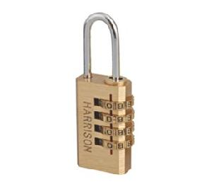 Brass Harrison PK-2 0101 Combination Lock