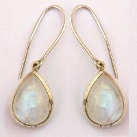 925 Silver Handmade Gemstone Earring Jewellery