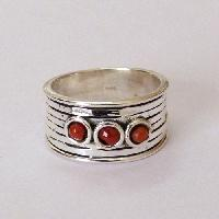 Indian 925 silver gemstone ring jewelry