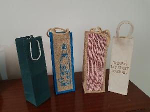 wine bottle Paper Bags