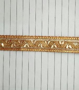 Kundan Work Crochet Laces