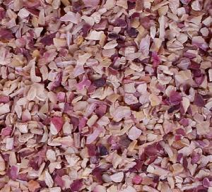 Dehydrated Chopped Pink Onion