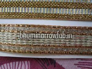 Glitter Golden Saree Laces