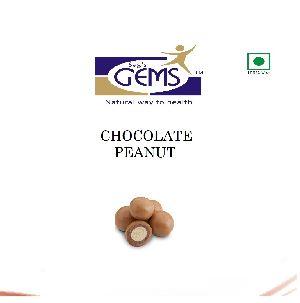 Dry Roasted Chocolate Peanuts