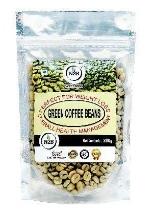 N2B A GRADE GREEN COFFEE BEANS 200g